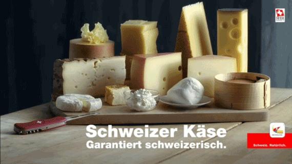 Schweizer Käse Messer